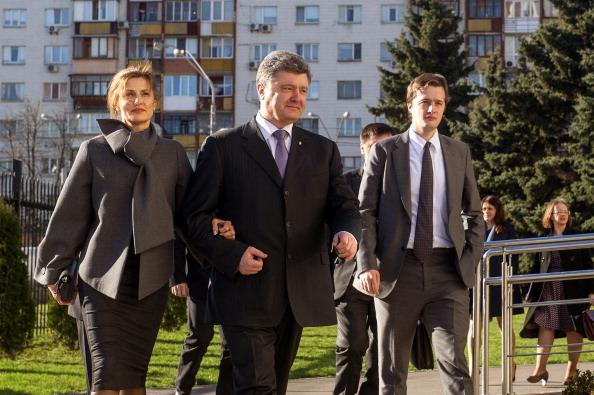 Poroshenko family