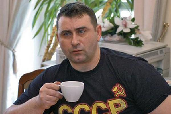Vladimir Kucherenko, better known by the pen name Maxim Kalashnikov