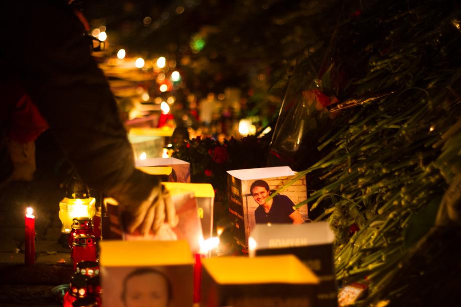 Heavenly Hundred Memorial Walk on Maidan