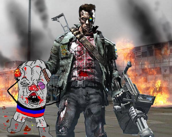 Cyborg and Cyborgs Futuristic Cyborgs