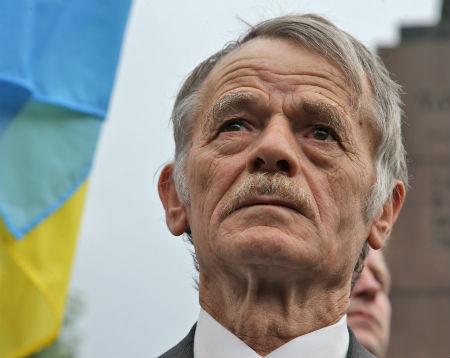 Mustafa Cemilev, the longtime leader of the Crimean Tatar national movement