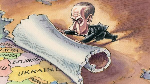Putin cartoon