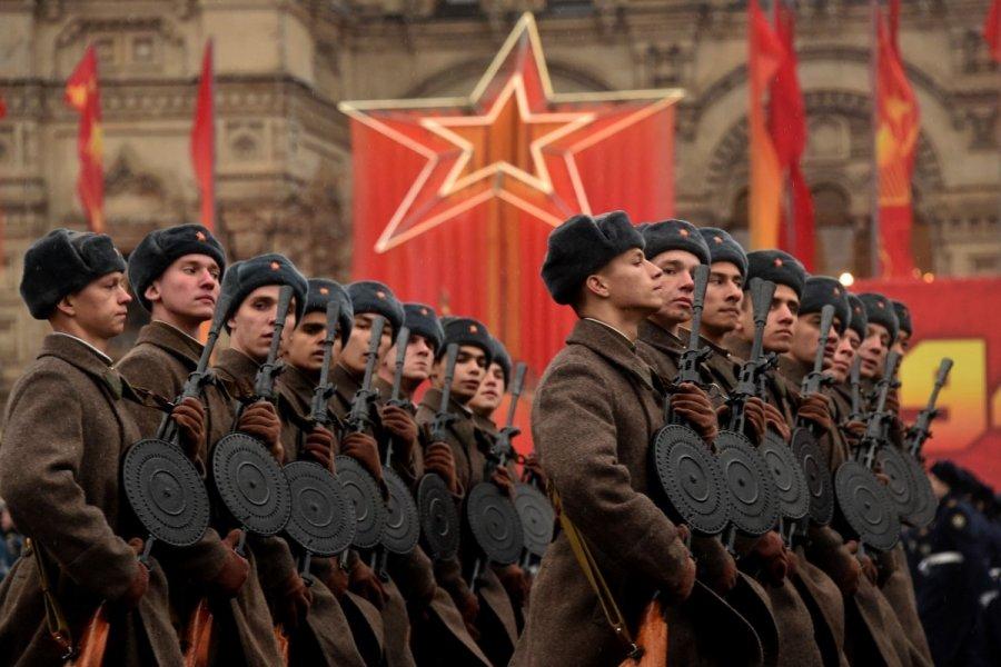 Kremplin military parade