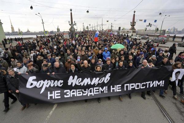 Boris Nemtsov march, 3/1/2015