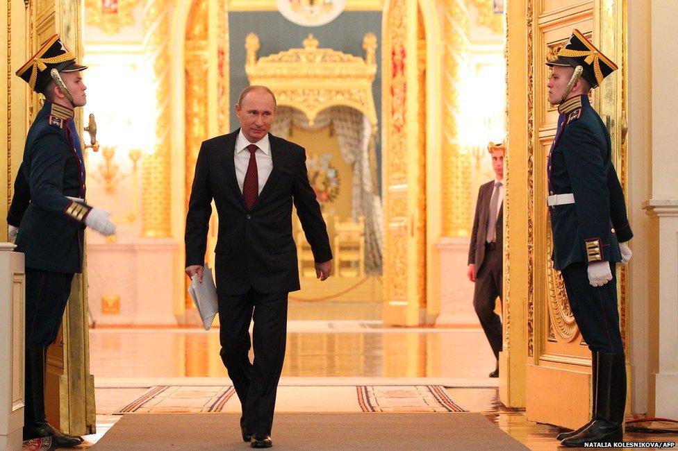 Ukraine The Russian Strongman Has 18