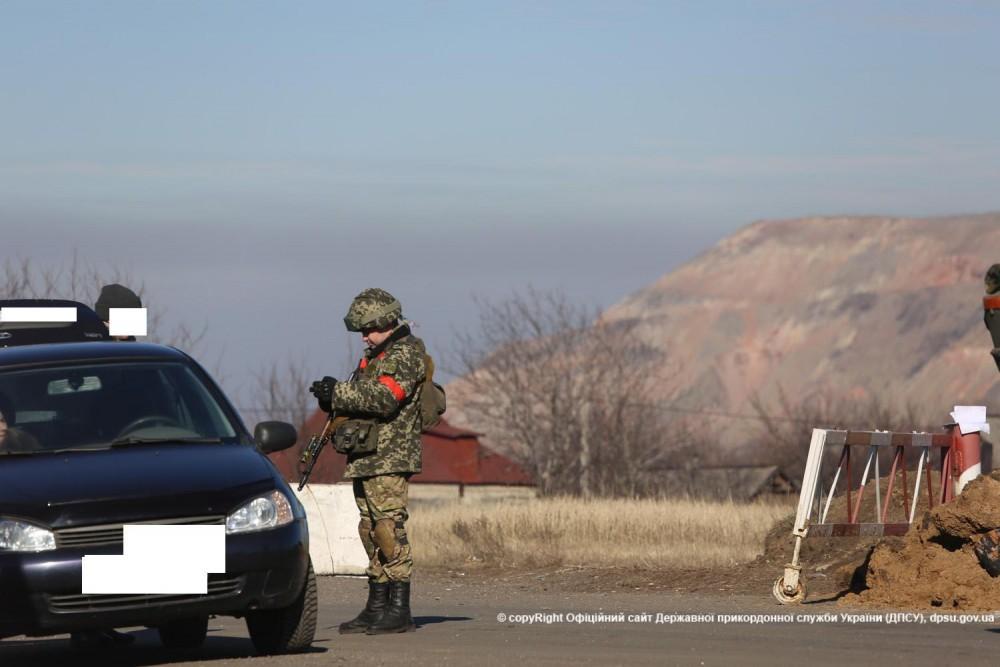 Ukrainian checkpoint