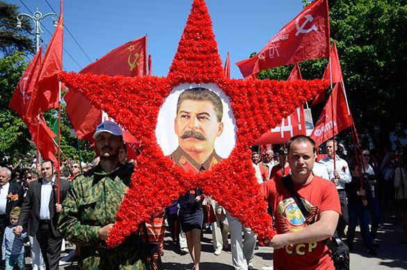 Russian communist march (Image: yoki.ru)