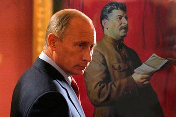 Risultati immagini per stalin putin