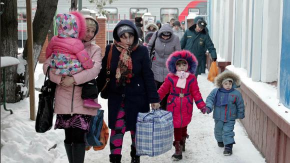 Ukrainian refugees in Russia (Image: REUTERS/Eduard Korniyenko)
