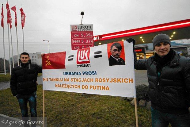 Poland Lukoil boycott Russia