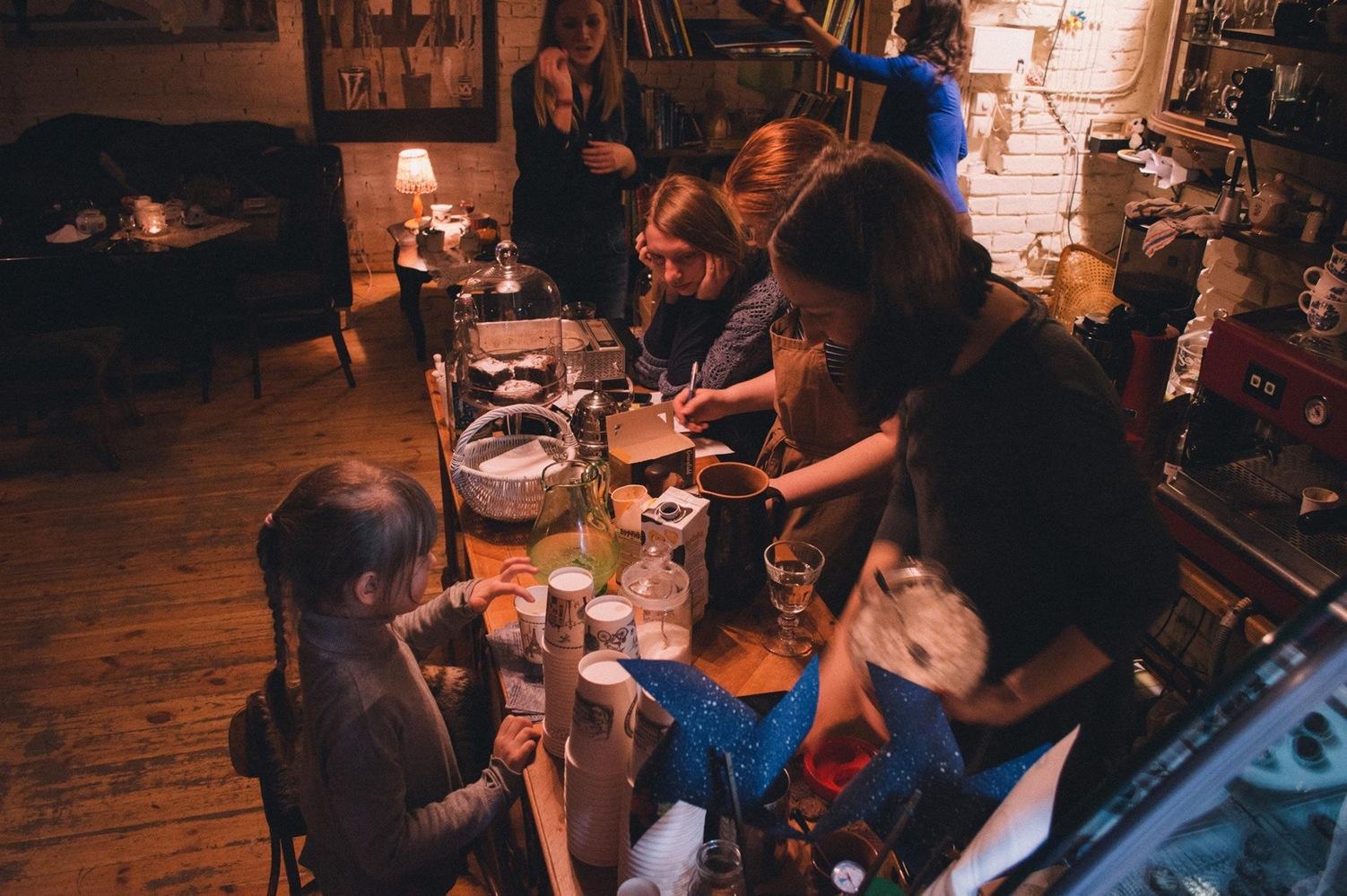 Na Stanislavskoho Cafe, Kyiv