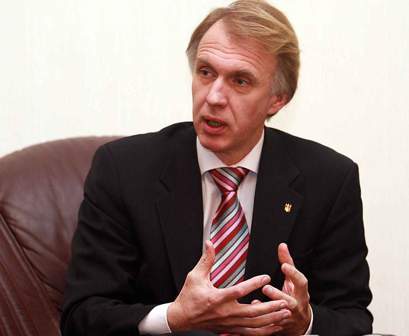 Volodymyr Ohryzko, Ukrainian foreign minister 2007 to 2009 (Image: day.kyiv.ua)