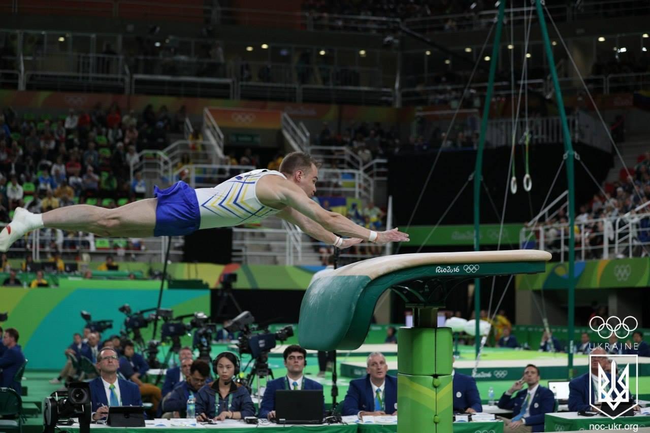 vault gymnastics gif. Meet The Radivilov - New Gymnastic Element Named After Ukrainian At #Rio2016 |Euromaidan Press | Vault Gymnastics Gif