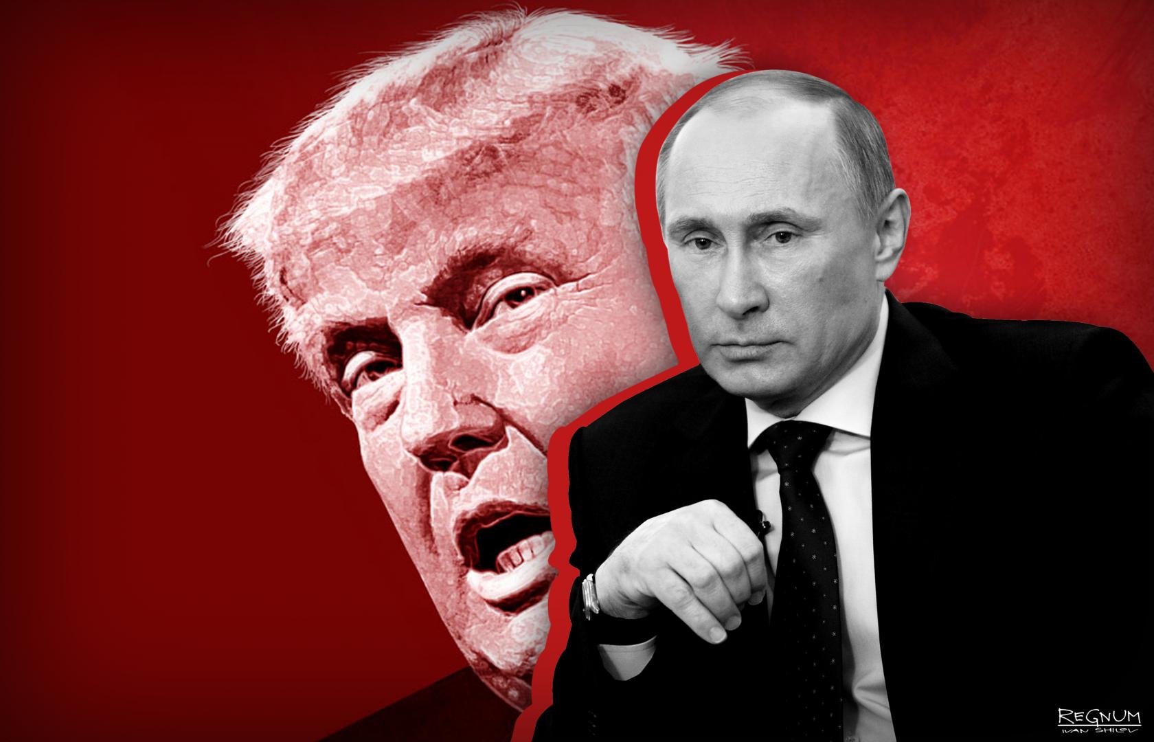 Putin/Trump (Image: Ivan Shilov, Regnum)