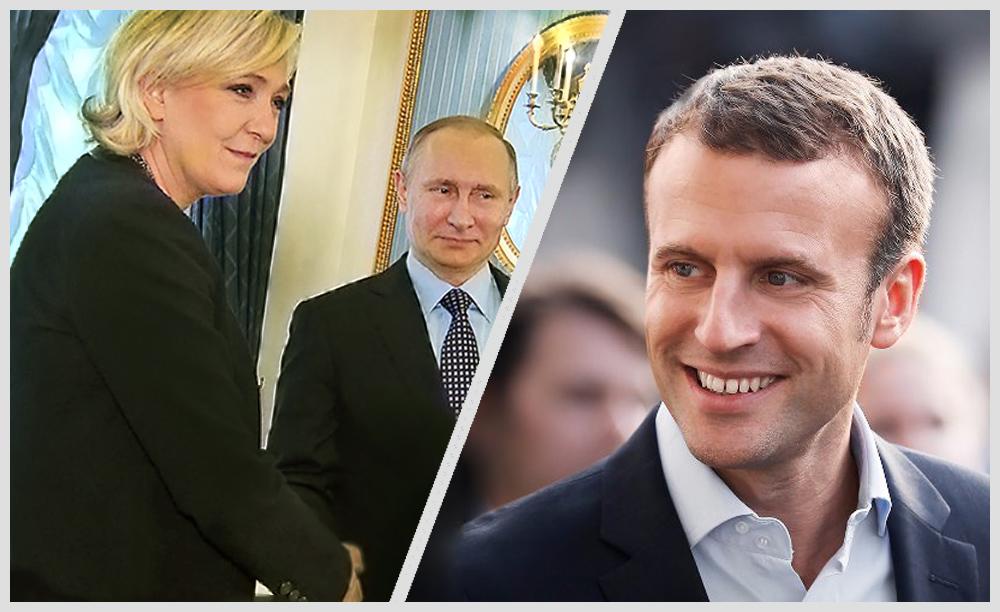 Le Pen+Putin vs Macron
