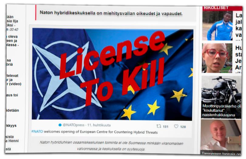 finnish disinformation on Hybrid CoE