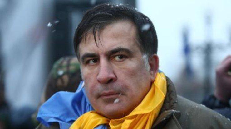 Mikheil Saakashvili. Photo: podrobnosti.ua
