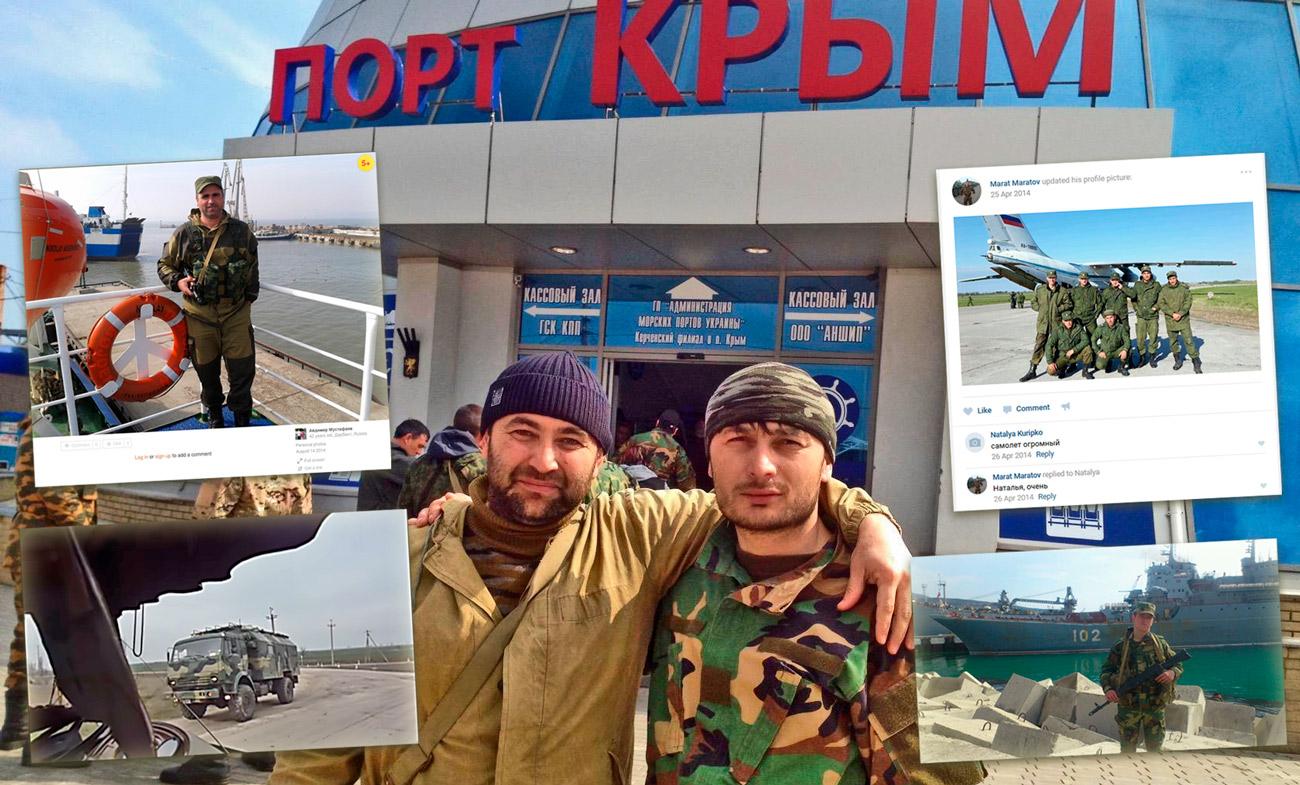 Russian 2014 invasion in Crimea