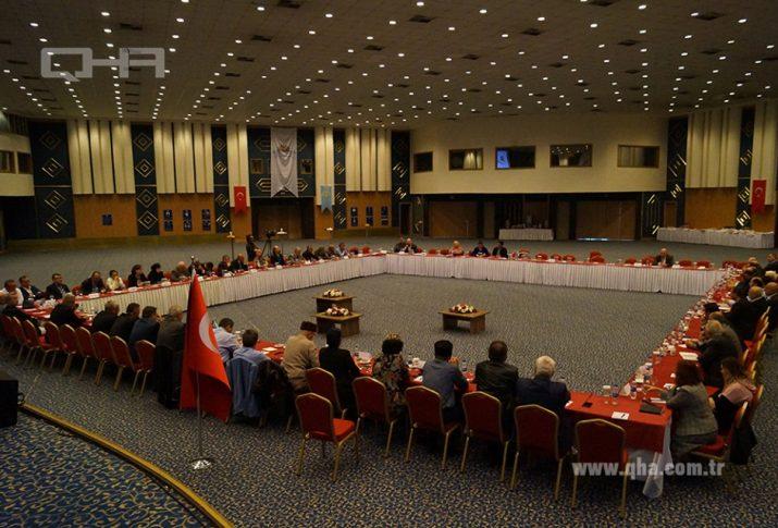 A congress of Crimean Tatar organizations in Ankara, Turkey on October 27, 2019 (Photo: qha.com.tr)