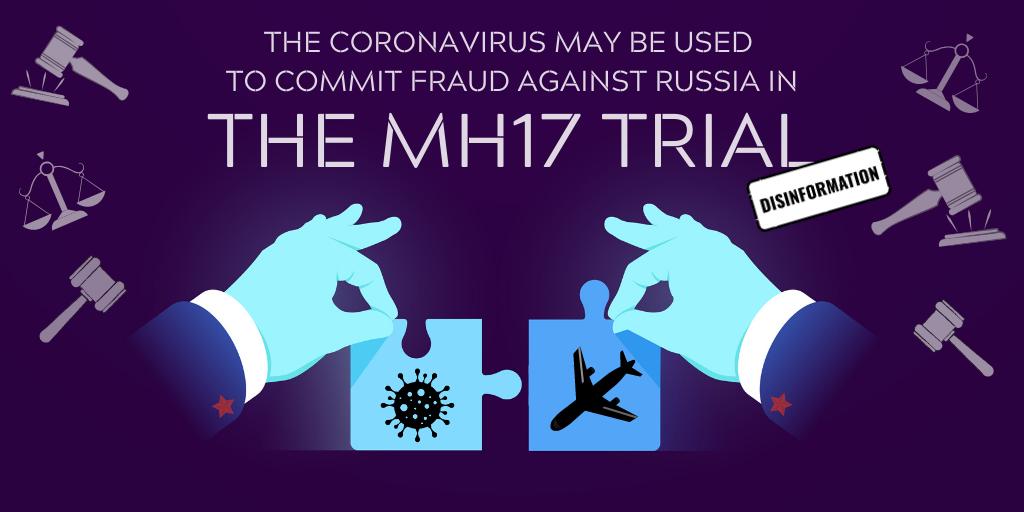 Disinformation mash-up: MH17, coronavirus, Ukraine