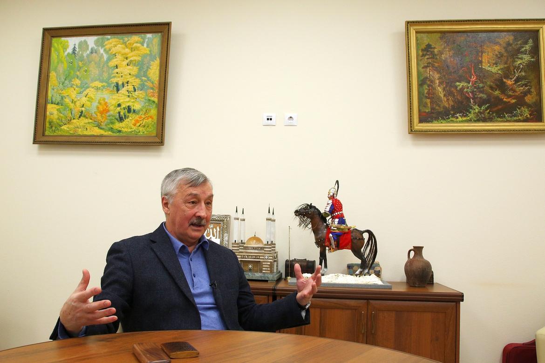Rafael Khakimov, Kazan historian and former advisor to Tatarstan president Mintimir Shaymiyev (Photo: Sultan Iskhakov for Milliard.Tatar)