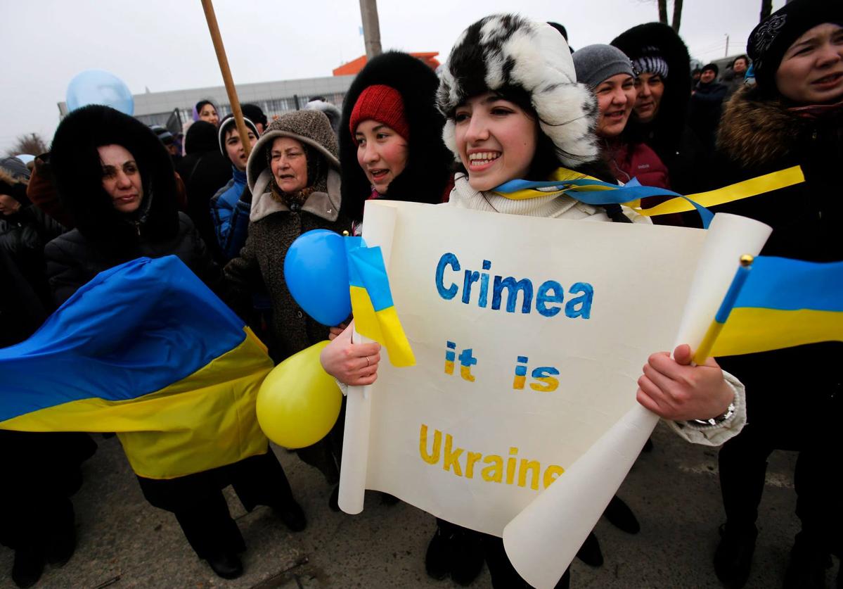 Crimea is Ukraine