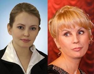 Olga Saletzkaja und Aleksandra Kornilowa