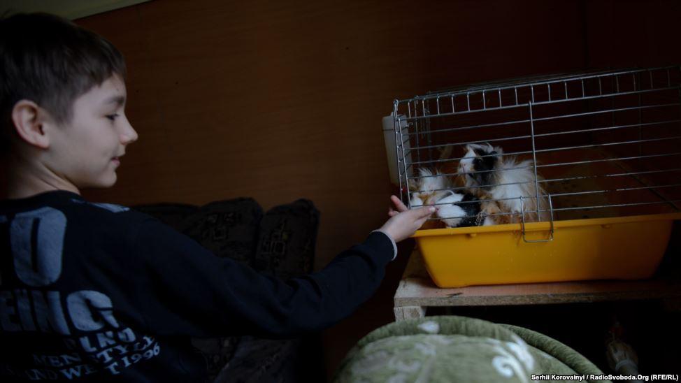 12 - Tierpflege ist ein wichtiger Teil der psychologischen Rehabilitation für die Kinder.