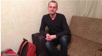 Maksym (Foto: Ian Bateson, Al Jazeera)