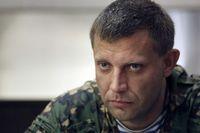Alexander Sachartschenko, der Führer der aufständischen Region Donezk.