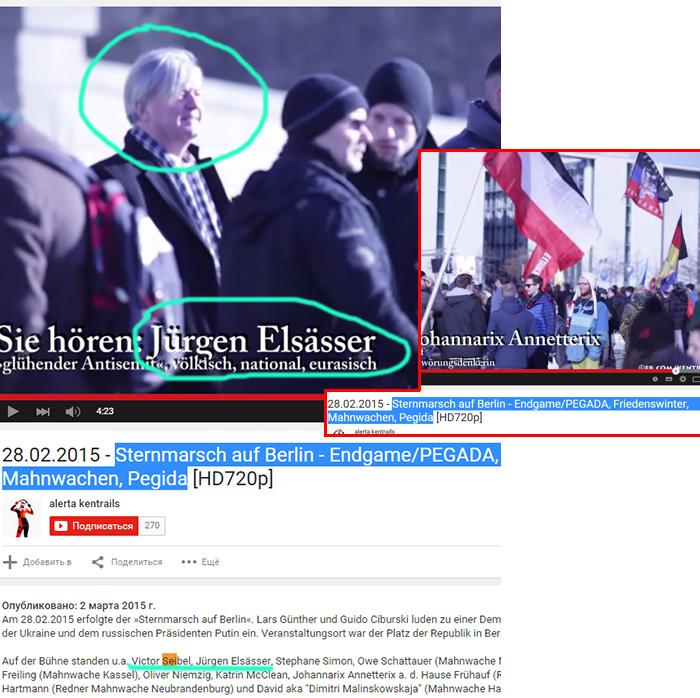 Jürgen Elsässer auf einer antiamerikanischen Kundgebung