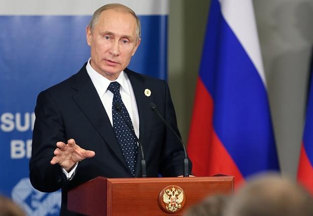 Wladimir Putin erklärte Estland 2007 zu einem feindlichen Staat. Foto: TASS / Barcroft Media
